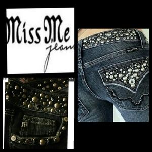 MISS ME Anchorage JP42888 Cropped Ankle Jeans